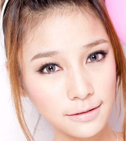 Colored contacts for asians think, that
