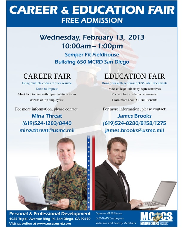 what to bring to a career fair