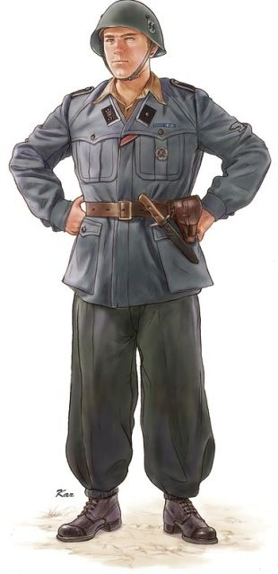 WAFFEN SS - 29. Waffen-Grenadier-Division der SS (italienische Nr. 1)