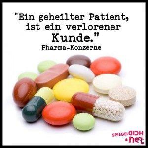Pharma Konzerne sind verbrecher sie wollen dich krank haben