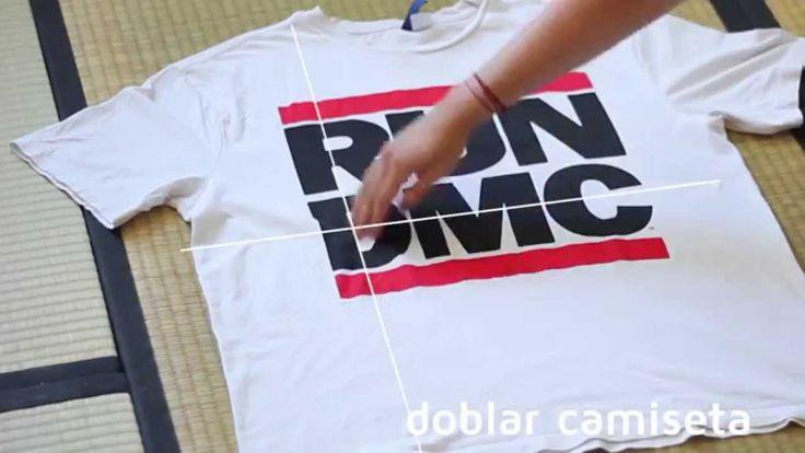 17 mejores ideas sobre doblar camiseta en pinterest - Tabla doblar camisetas ...