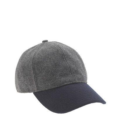 Sporty and sharp in colorblock wool, this is one you'll wear even on good hair days. <ul><li>Wool/viscose.</li><li>Import.</li></ul>