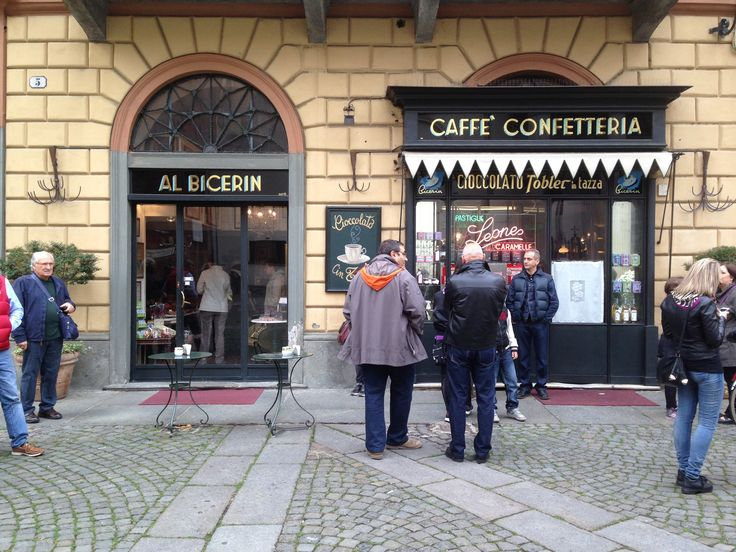 The famous Al Bicerin Cafe which dates from 1763