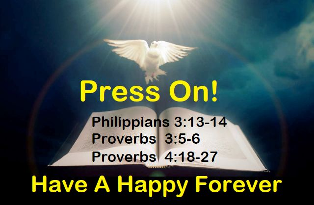 God Morning from Trinity, Texas Today is Sunday December 31, 2017  Day 365 on the 2017 Journey! Make It A Great Day, Everyday! Press Toward The Goal Today's Scripture: Philippians 3:13-14; Proverbs 3:5-6;4:18-27 https://www.biblegateway.com/passage/?search=Philippians+3%3A13-14%3B+Proverbs+3%3A5-6%3B4%3A18-27+&version=NKJV  forgetting those things which are behind and reaching forward to those things which are ahead,... Inspirational Song https://youtu.be/T3z9YKNI_zs