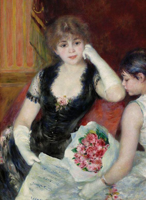 'At the Concert' ~ Pierre Auguste Renoir