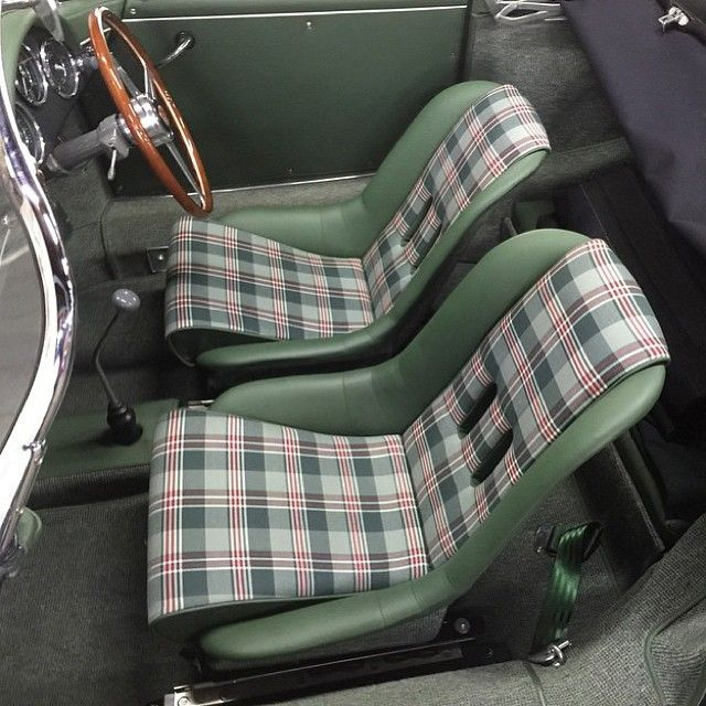 Porsche Speedster Custom Seats Design Concept Adaptable To Trucks Car UpholsteryDiy InteriorDesign