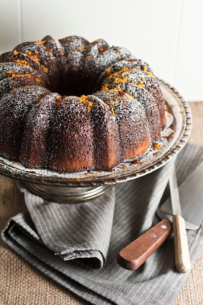 Sweetened Condensed Milk Cake with A Grand Marnier Soak | hummingbird high || a desserts and baking blog