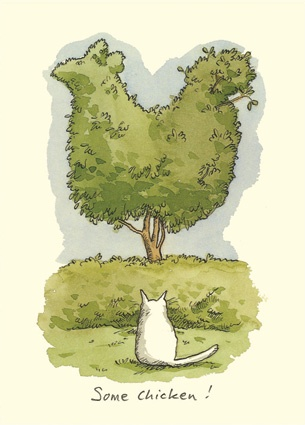 M29 SOME CHICKEN - a Two Bad Mice card by Anita Jeram