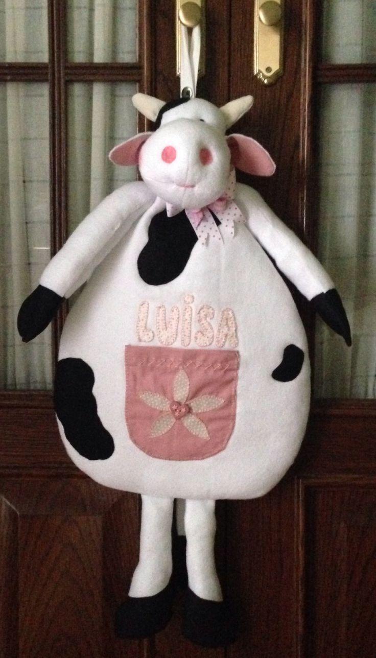 Guarda pijama Vaca
