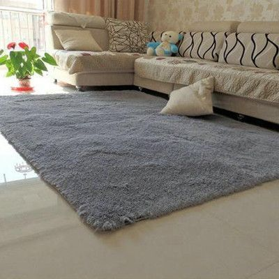1PCS 80x120cm Explosion Models Silky Carpet Mats Sofa Bedroom Living Room Anti-Slip Floor Carpets Bedroom Soft Mat Home Supplies