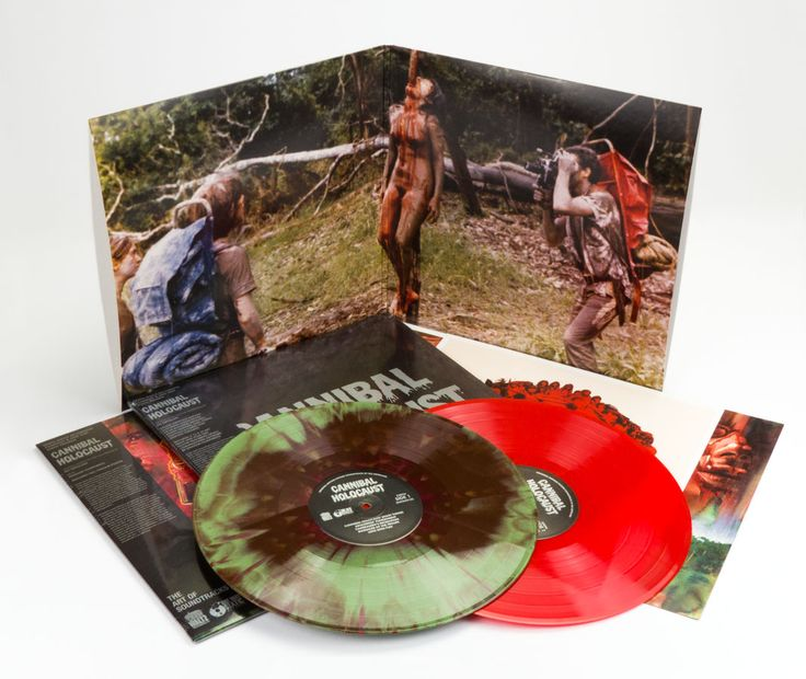 One Way Static Records - Cannibal Holocaust (Original 1980 Motion Picture Soundtrack) Deluxe Edition LP
