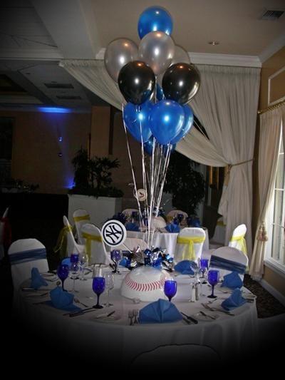Centerpiece us art balloons bar mitzvah balloon