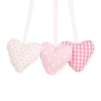 Acesórios Têxtil - Cama - ZaraHome Portugal - Saquinho Aromático Kids Hearts (Conjunto de 3)