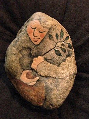 Painting Rocks  - #crafts, #painting