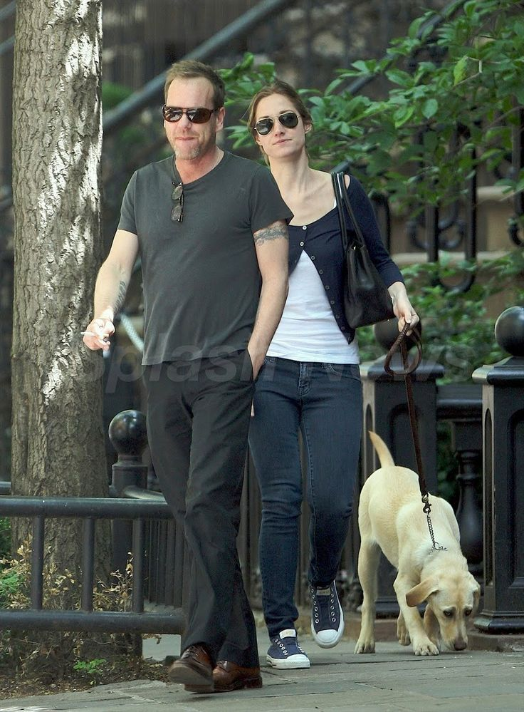 Kiefer Sutherland Daughter | 24 Jack Bauer 4Ever: Kiefer Sutherland In The West Village NYC May 13 ...