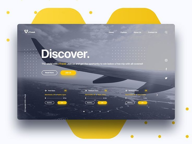 Example Of Interactivity Web Layout Design Ux Design Inspiration Travel Design