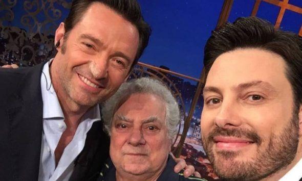 Danilo Gentili realiza encontro entre Hugh Jackman e o dublador brasileiro do Wolverine