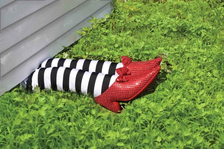 Wizard of Oz Wicked Witch Legs Prop - I'll get this my pretty
