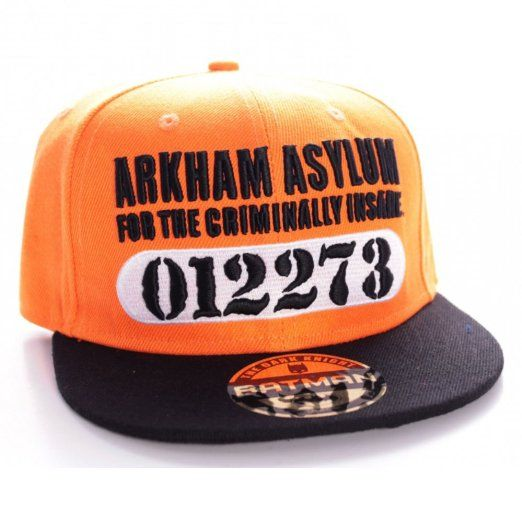 Batman Arkham Asylum Cap (Orange)