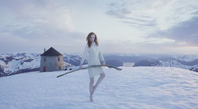 Fashion Shoot for Leila Hafzi and Sandnes Garn | Behind the Scenes in Norway with Erik Almas