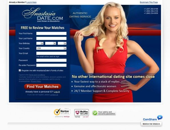 Online dating site without registration