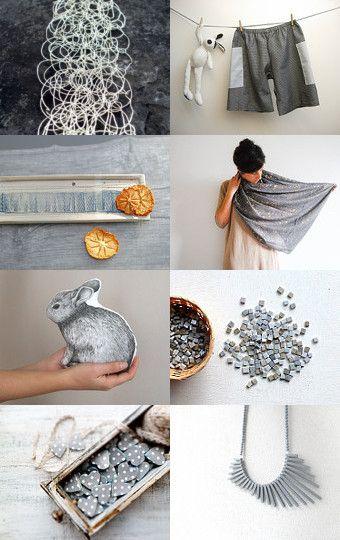 C' è grigio e grigio.... by Patrizia Jaus on Etsy--Pinned with TreasuryPin.com
