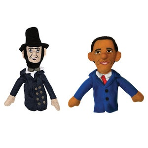Obama   Lincoln now featured on Fab.