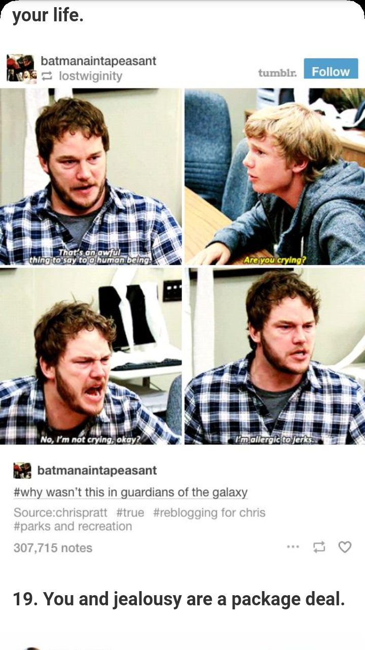Y'all I love Chris Pratt and Andy sm #sports #recreation