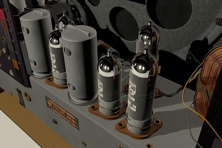 Old Philips radio