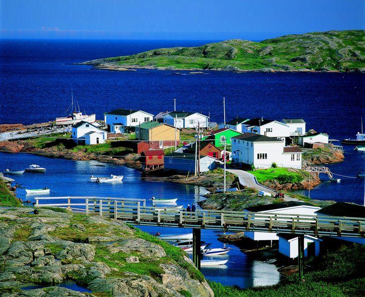 Harrington Harbour, sur la Basse-Côte-Nord Crédit photo : Claude ...