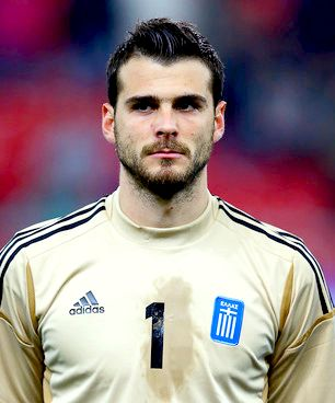 ... 2016 Olympiacos Greece Soccer Training Jersey Orestis Karnezis from Greece  1 ... 3dfb9c33f