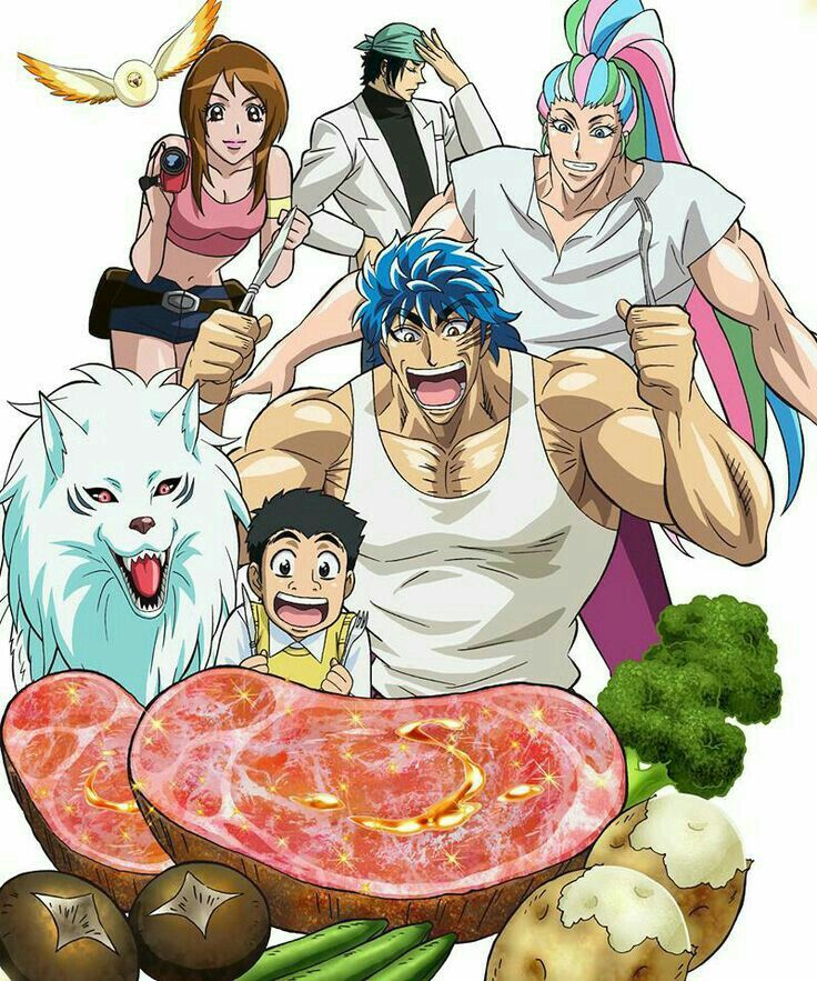 83 Best Toriko Images On Pinterest