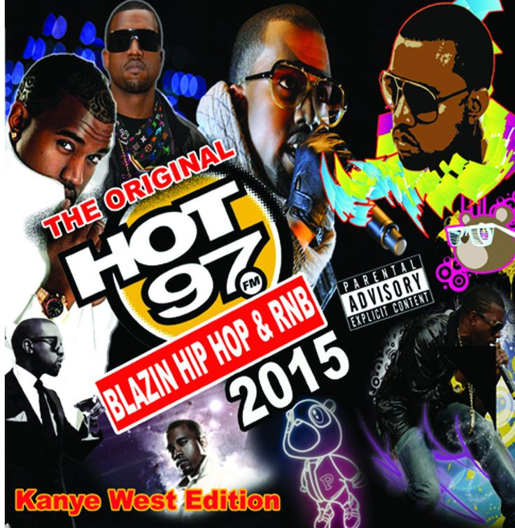 "Hot 97 ""The Kanye West Edition"" Blazin' Hip Hop & R&B  Mixtape CD"