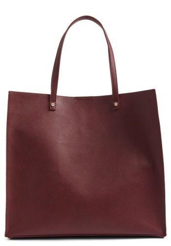Bp. Faux Leather Tote - Burgundy http://shopstyle.it/l/dtOg