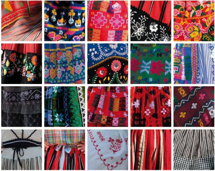 Pormenores bordado trajes de Viana