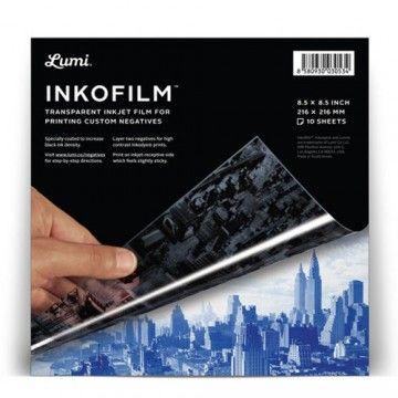 DIY Inkofilm inkjet folie