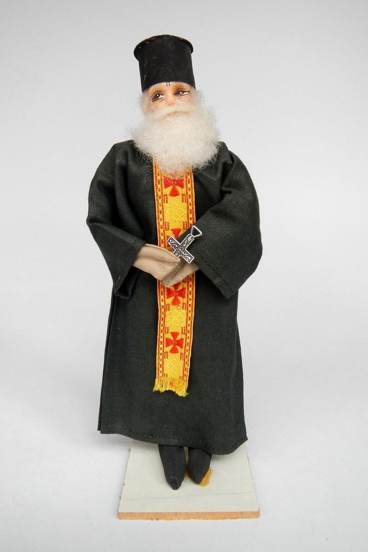 Greece | Doll Orthodox Priest