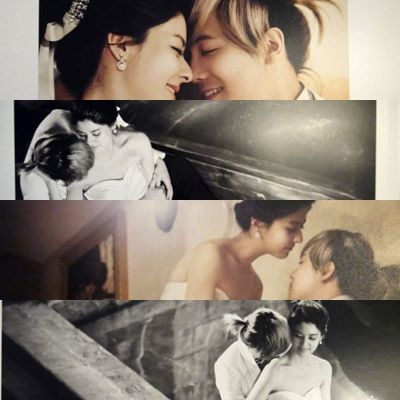 Hongki + Mina Wedding Photoshoot