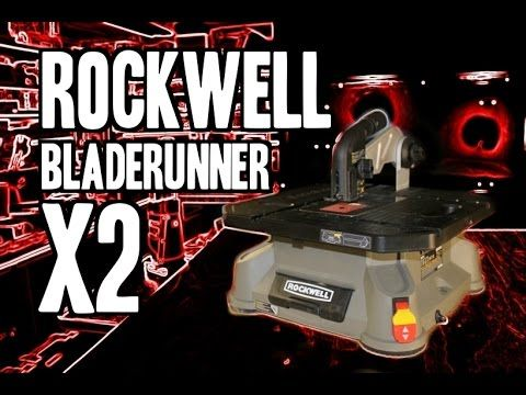Get a Rockwell Bladerunner X2 at Amazon here --- http://www.amazon.com/Rockwell-RK7323-Runner-Portable-Tabletop/dp/B00L47FZ8A/?_encoding=UTF8&tag=reatoorev-2...