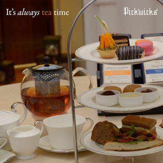 Could high tea get any better? Suit your fancy with the sweet and savory delights!