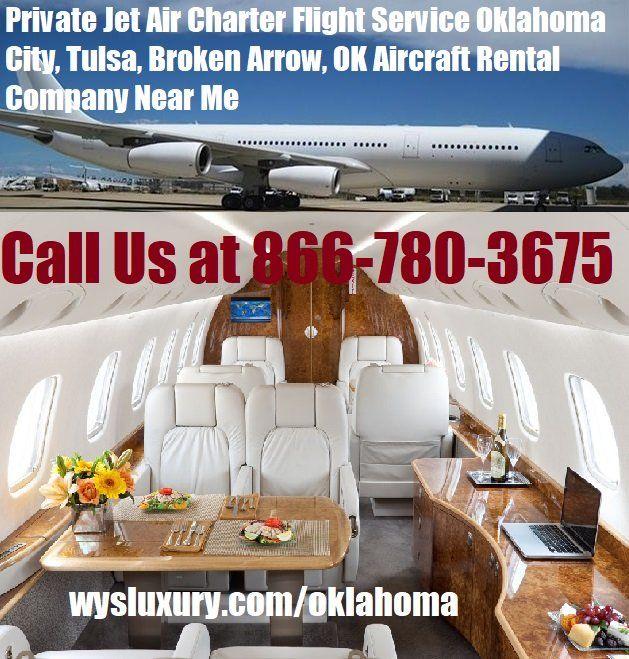 Private Jet Air Charter Flight Oklahoma City, OK Plane Rental Company #wysseoagency