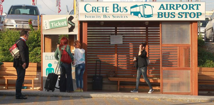 #Crete #bus #station #Greece