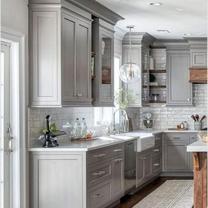 25 Farmhouse Kitchen Backsplash Joanna Gaines French Country At A Glance 32 Bac Kitchen Decor Modern Modern Kitchen Cabinet Design Farmhouse Kitchen Design