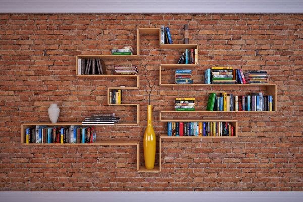 Flex Shelf: A Transforming Shelf From Story Store Photo - possible to fix in the hallway