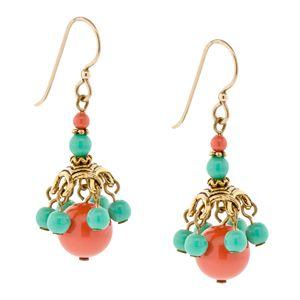Coral Kiss Earrings, Main Image