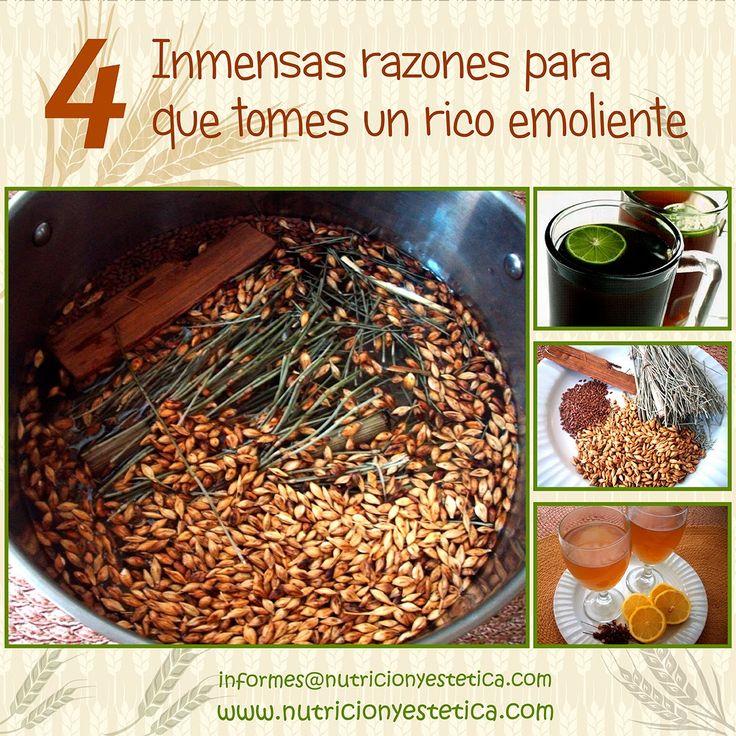 Nutricion Estetica: Cuatro inmensas razones para que tomes un rico emo...