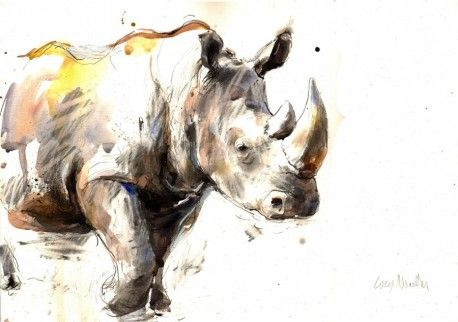 Watercolour Painting by Lucy Newton