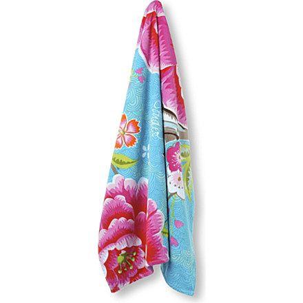 PIP STUDIO Blue Birds of Paradise beach towel £49