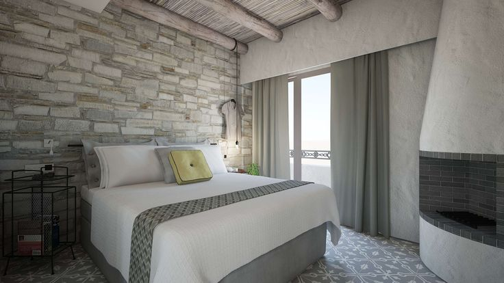 Helios Executive Suite-Bedroom, Elakati Luxury Boutique Hotel, Rhodes , Greece