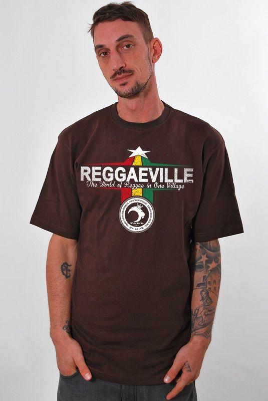 YARD Reggaeville, T-Shirt, Brown